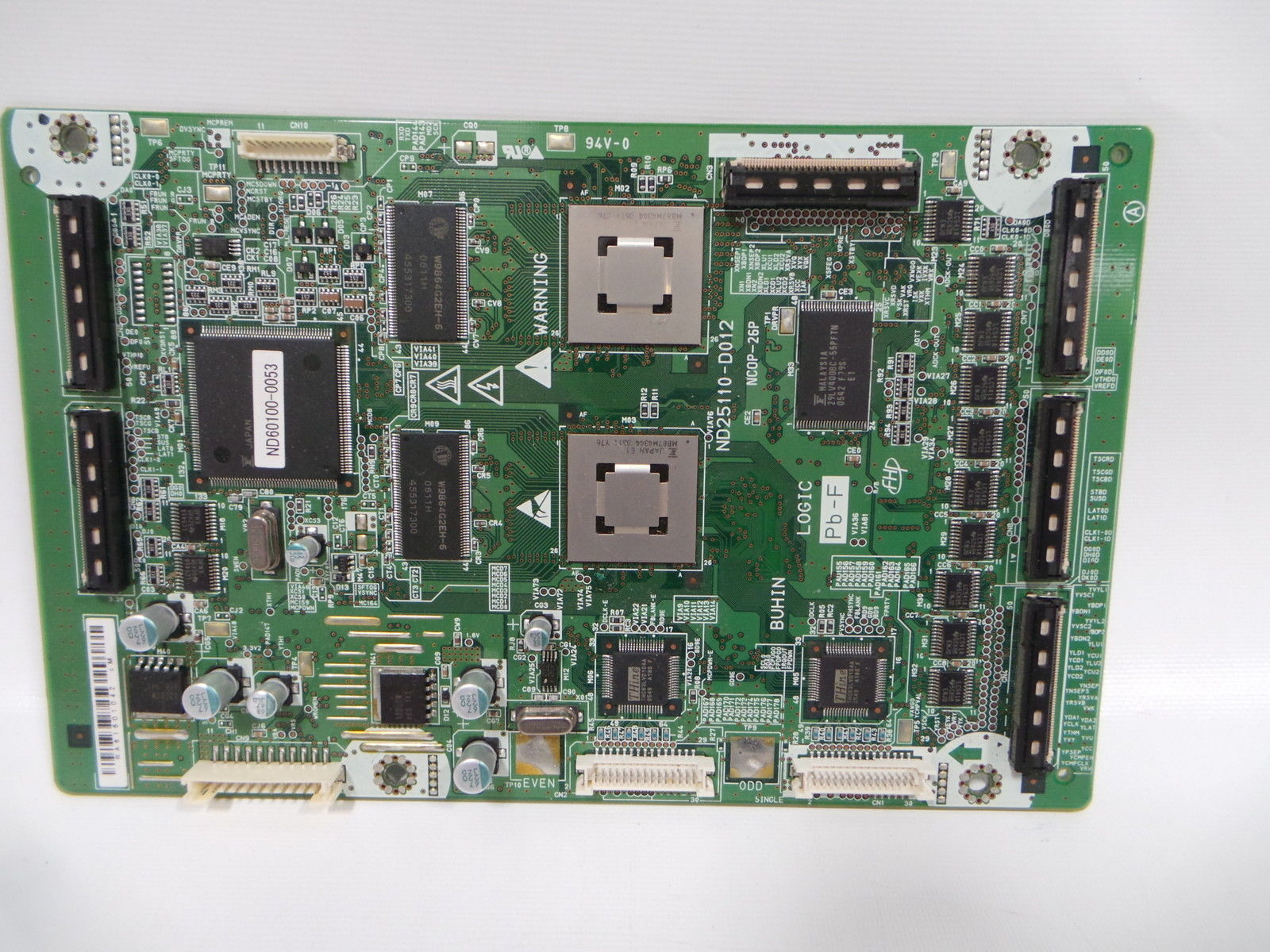 Hitachi FPF31R-LGC0053 (ND60100-0053) (ND25110-D012) Main Logic