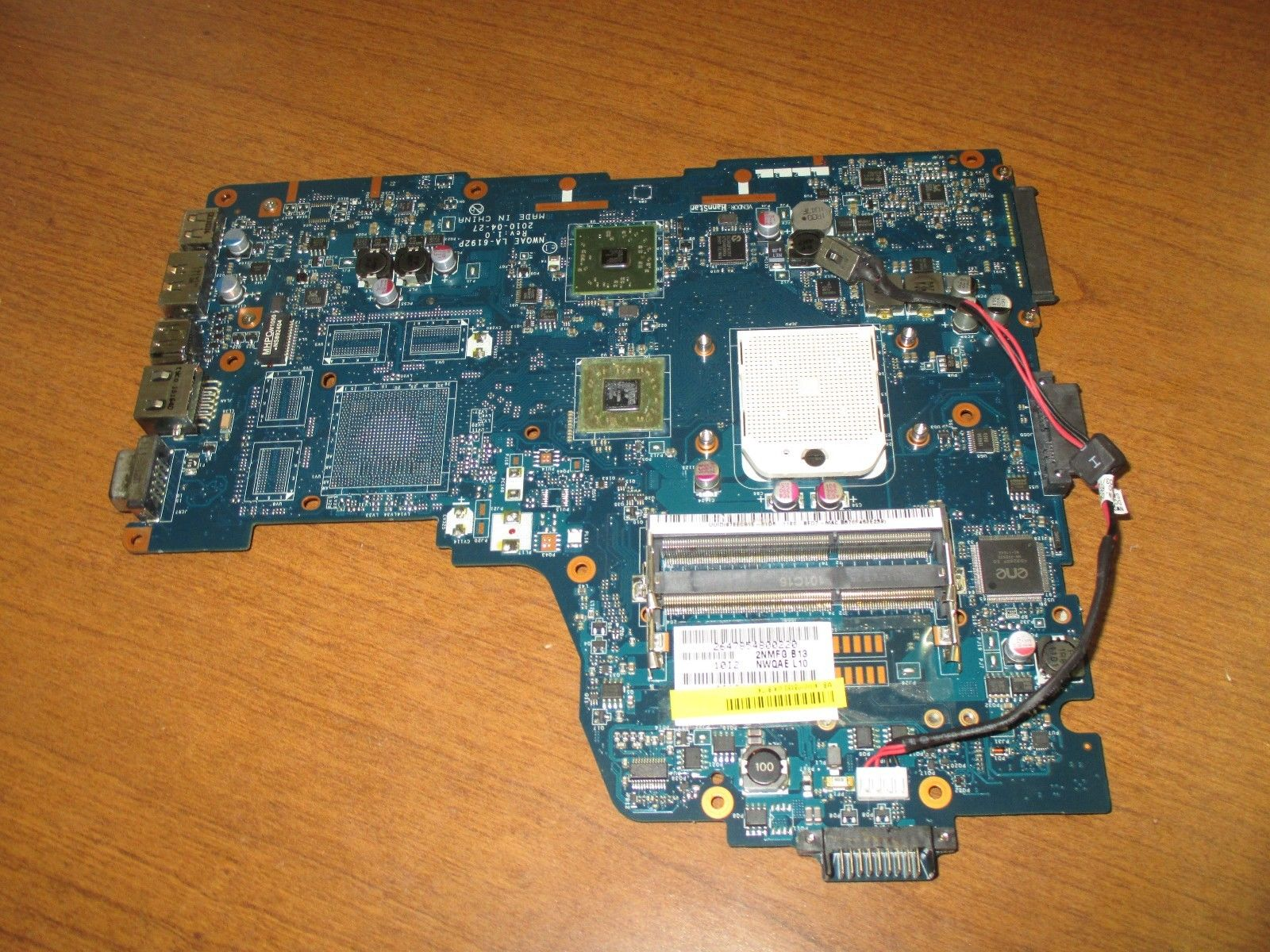 Toshiba Satellite A660D A665D Series AMD Motherboard K000108480