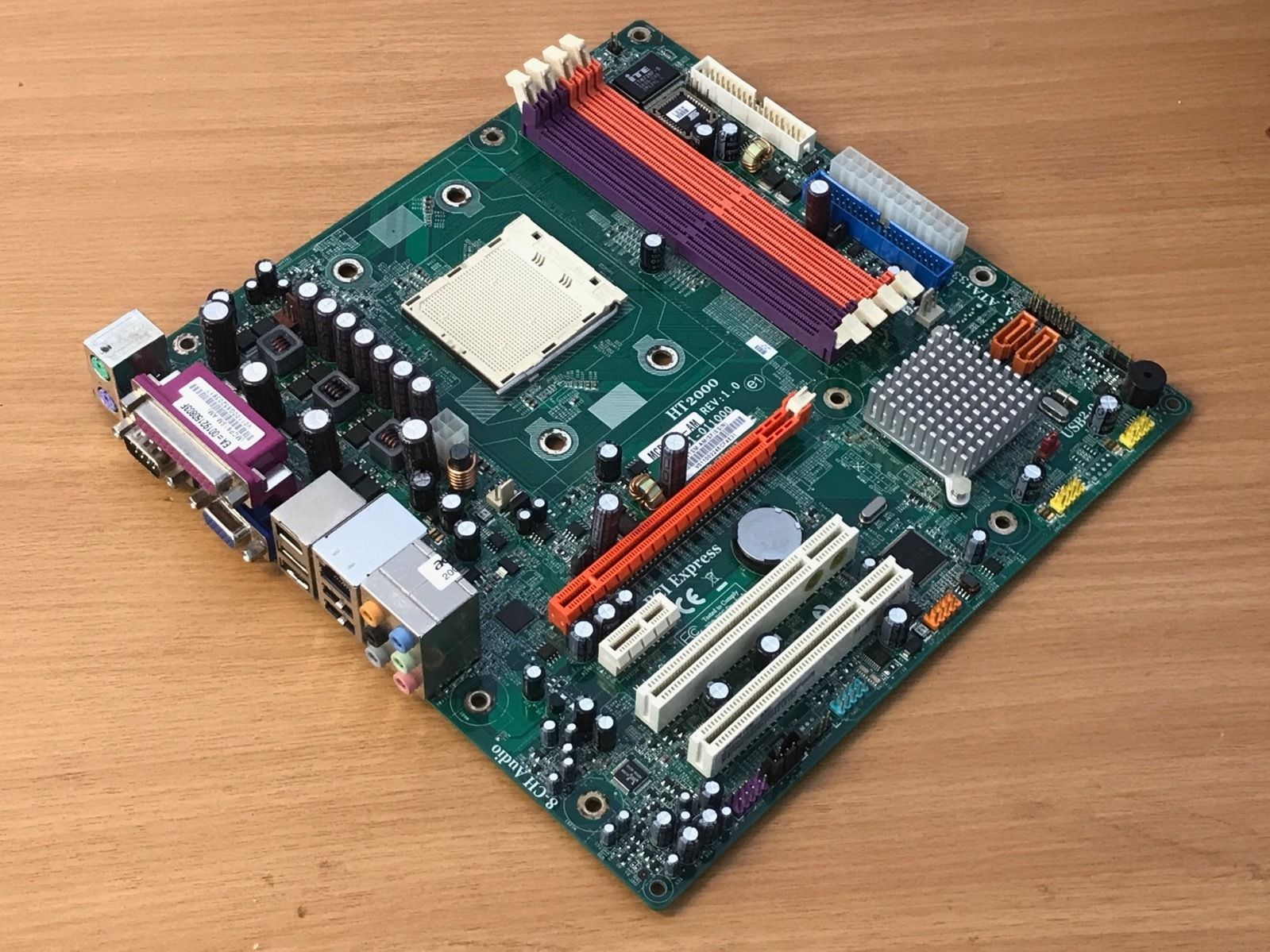 Acer Aspire T180 ECS AM2 Motherboard + Backplate MCP61SM-AM TEST