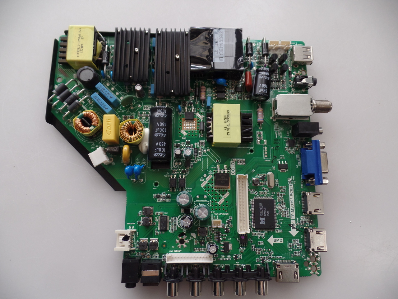34014308 Westinghouse Main Board for DWM55F1G1 TVs with version