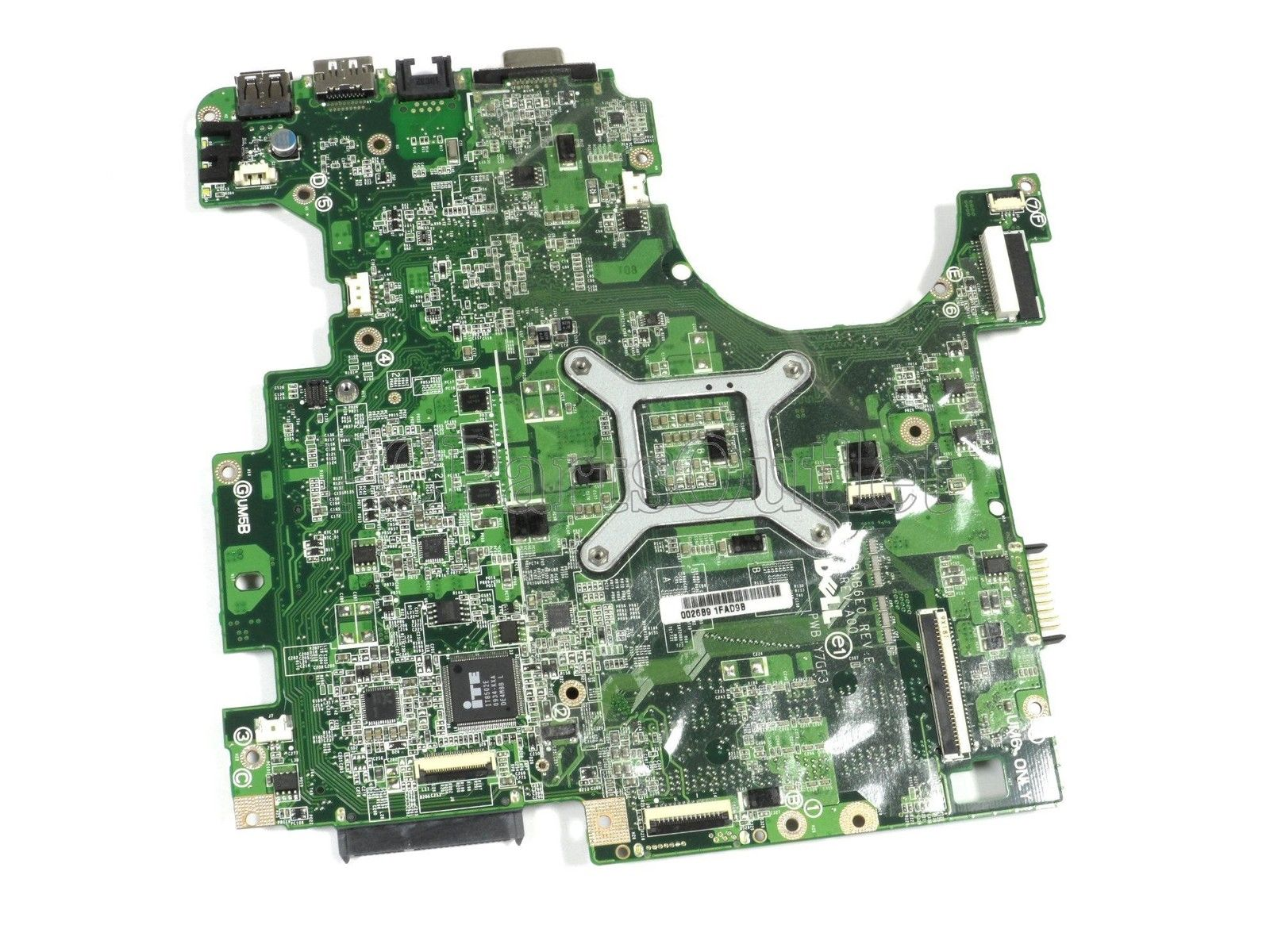 Dell Inspiron 1764 Series Intel i-Core CPU Motherboard YWY70 0YW