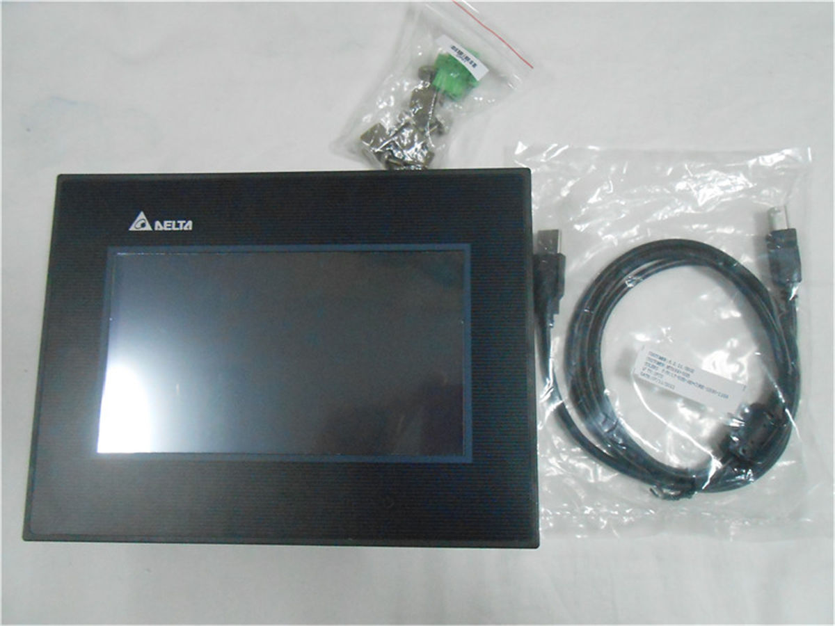 DOP-B07S411 Delta HMI Touch Screen 7inch 800*480 with program cable new