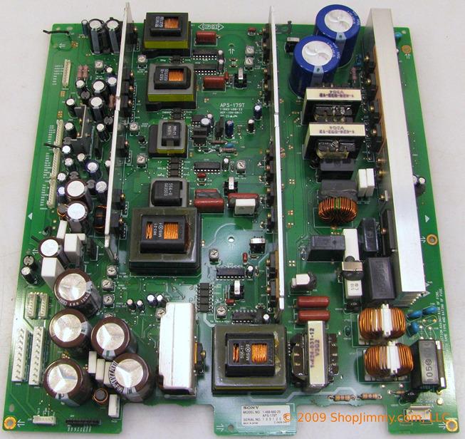 Sony (APS-179T) 1-468-660-23 Power Supply for PFM-42B2 [APS-179T