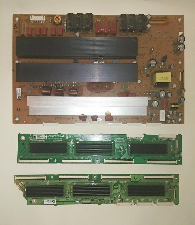 LG 60PV250-UB YSUS & Buffer Boards EBR73561201 EBR73560801