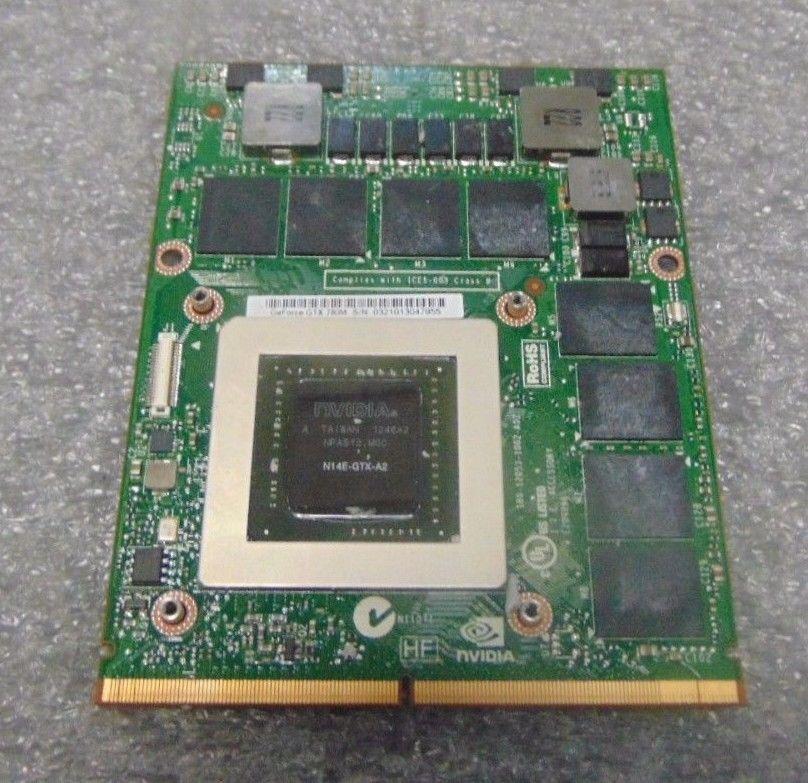 nVidia 9600M GS DDR2 512M G96-600-C1 MXM II VGA Video