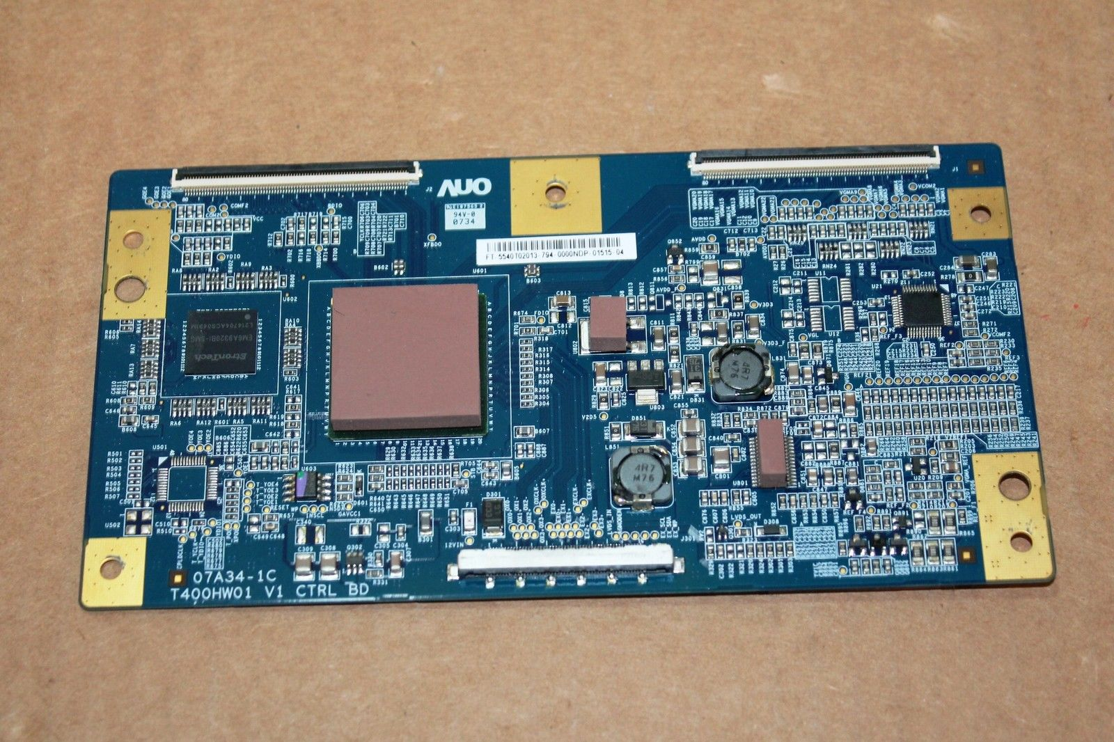 NEW T-CON BOARD LVDS 07A34-1C T400HW01 V1 FOR SONY KDL