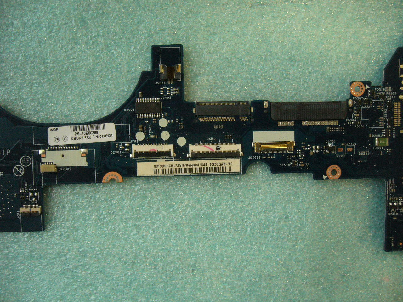 QTY 1x Lenovo Thinkpad Yoga S1 laptop motherboard i5-4200U 4GB LA-A341P ZIPS1